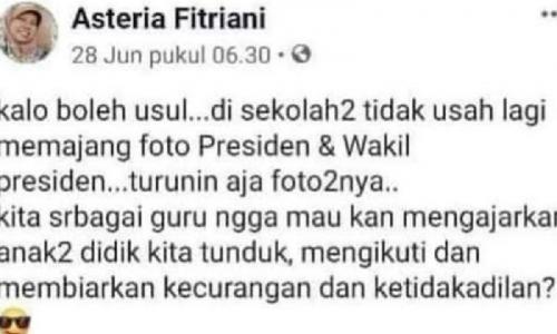 Viral Status Tak Pajang Foto Presiden, Prasetio Ingatkan Ini