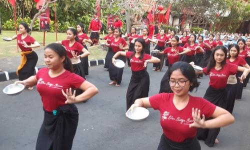300 Penari Siap Sambut Ibu Megawati