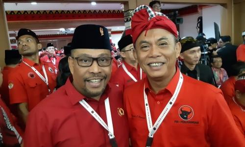 Kader Tiga Pilar Semarakan Kongres V PDI Perjuangan