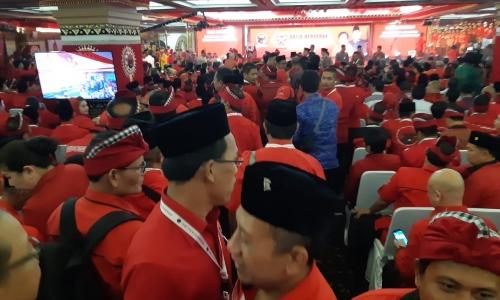 Kader Tiga Pilar Meriahkan Kongres Banteng