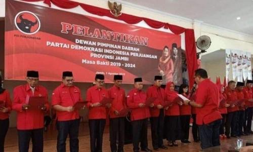 PDI Perjuangan Jadi Incaran Para Kandidat Pilgub Jambi