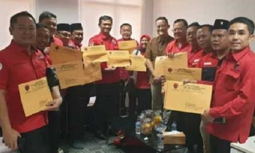 PDI Perjuangan Tempatkan 14 Kursi Pimpinan DPRD se-Lampung
