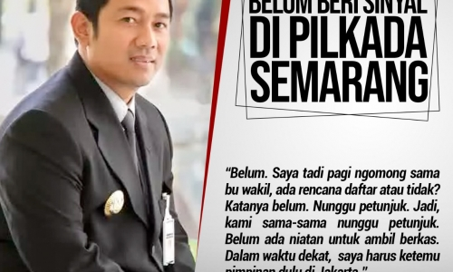 Hendi Belum Beri Sinyal Maju di Pilkada Semarang