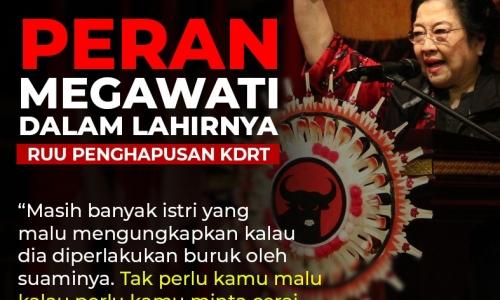 Peran Lahirnya Megawati dalam Lahirnya RUU Penghapusan KDRT