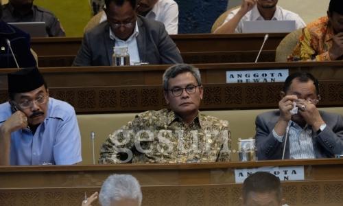 Johan Dukung Revisi PKPU Nomor 3 Tahun 2017