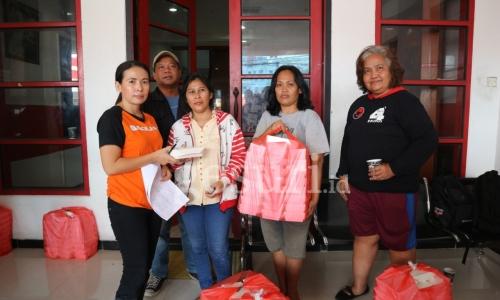 PDI Perjuangan Dirikan Dapur Umum Bantu Korban Banjir
