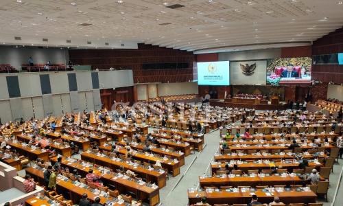 Rapat Paripurna ke-7 DPR RI Masa Persidangan II
