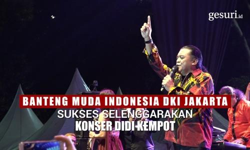 Banteng Muda Indonesia DKI Gelar Konser Didi Kempot