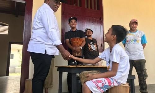 Wamen PUPR Ajak Warga Ternate Bersama Rawat Benteng Oranje