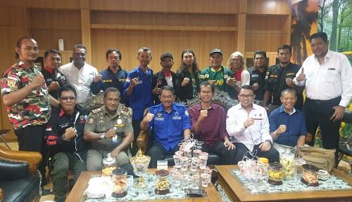 "Cak Awi Bersama Ormas Kampanye ""Jogo Surabaya"""