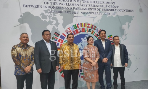 Peresmian Grup Kerja Sama Bilateral (GKSB) DPR RI