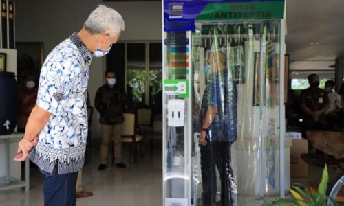 Kemendag Apresiasi Physical Distancing Pasar Rakyat Jateng