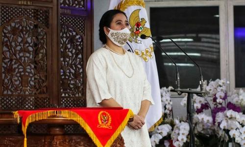 Puan Ikuti Upacara Hari Lahir Pancasila 1 Juni 2020