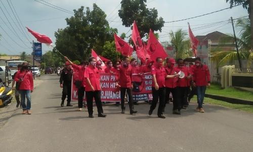 Banteng Muba Dorong Polres Tangkap Oknum Pembakar Bendera
