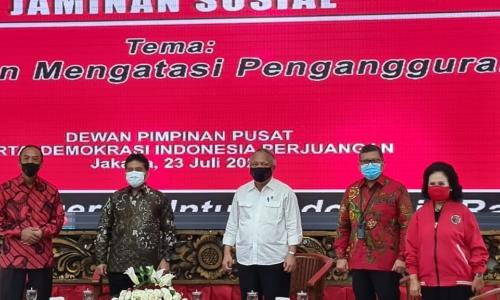 DPP PDI Perjuangan Gelar RAKOR Nasional Bidang Industri