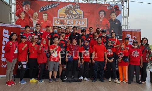 PDI Perjuangan Jakarta Utara Gelar 'Goes PIK'