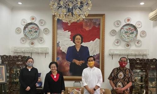Kata Gibran & Walkot Rudy Saat Bertemu Megawati dan Puan
