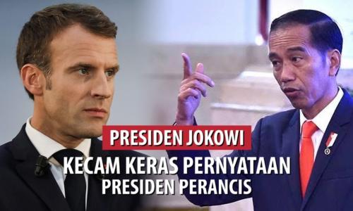 Presiden Jokowi Kecam Pernyataan Presiden Perancis