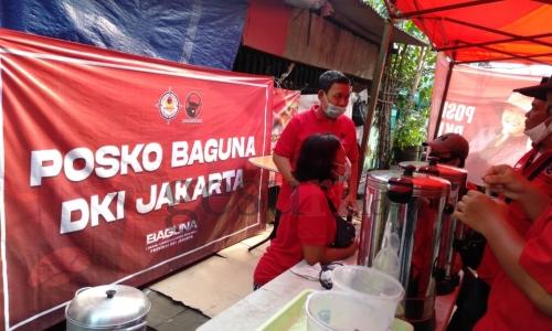 BAGUNA DKI Jakarta Dirikan Dapur Umum untuk Korban Kebakaran