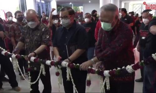 PDI Perjuangan Yogyakarta Membuka Pameran Seni Rupa 'Akara'