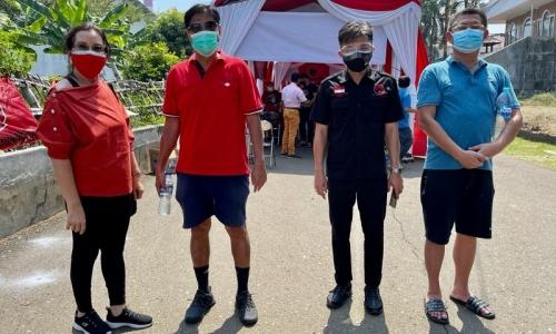 Lonjakan Kasus Tinggi, PDI Perjuangan Jakarta Vaksin Warga