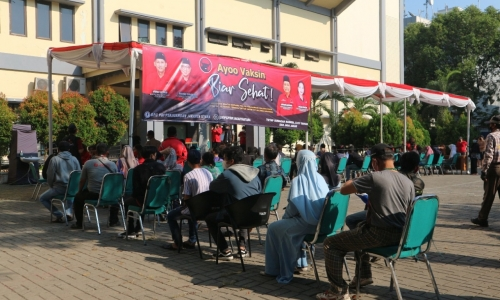 PAC PDI Perjuangan Tanjung Priok Gelar Vaksinasi Gratis
