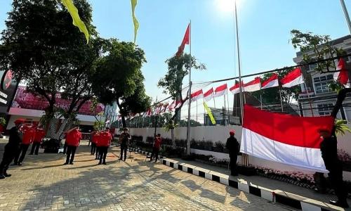 PDI Perjuangan Lakukan Upacara Kemerdekaan RI ke-76 Tahun