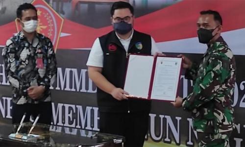 Dhito Apresiasi Aksi TNI Manunggal Membangun Desa ke-112