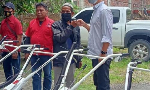 Konkrit ! Adisatrya Serap Keluhan Petani & Bantu Cultivator