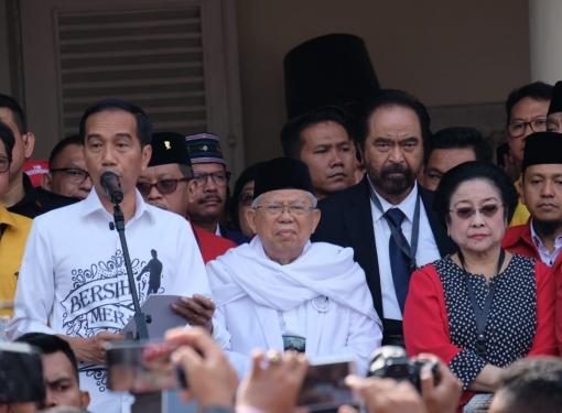 Pidato Jokowi di Gedung Joang '45