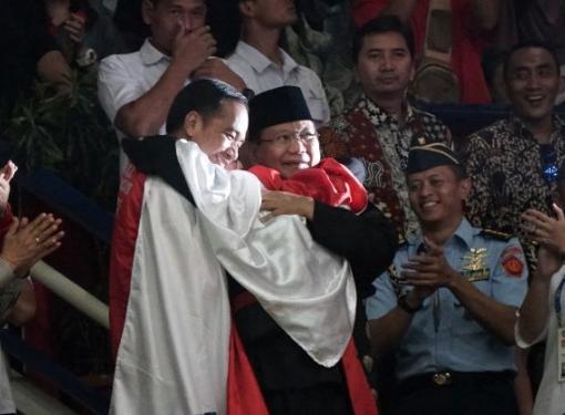 Jokowi-Prabowo Akur di Asian Games 2018