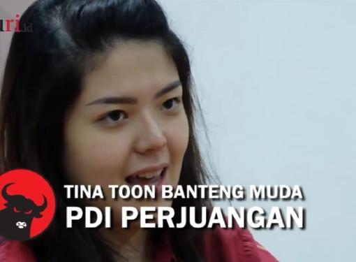 Tina Toon, Banteng Muda PDI Perjuangan