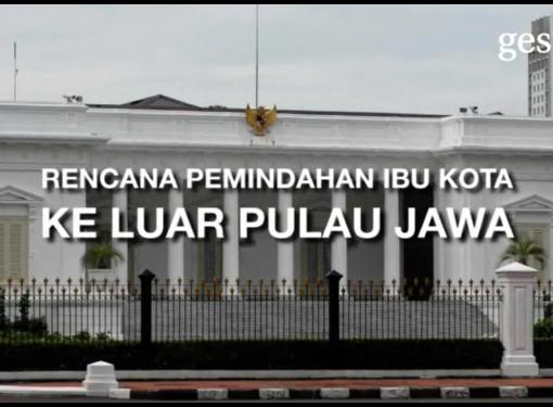 Rencana Pemindahan Ibu Kota ke Luar Jawa