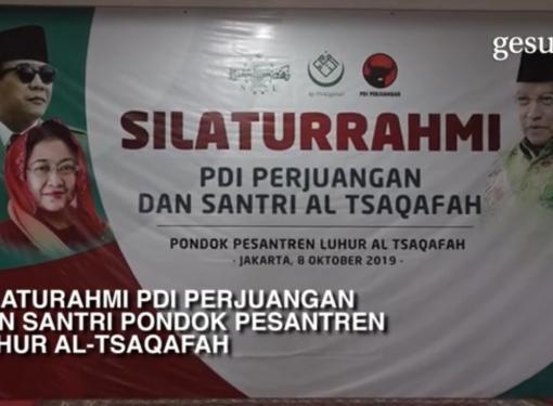 PDI Perjuangan ke Pondok Pesantren Luhur Al Tsaqafah