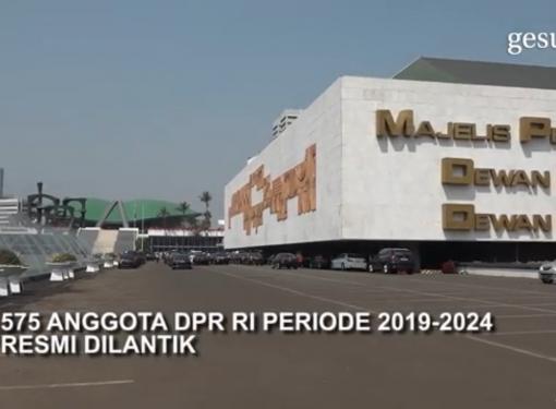 Pelantikan Anggota DPR RI 2019-2024