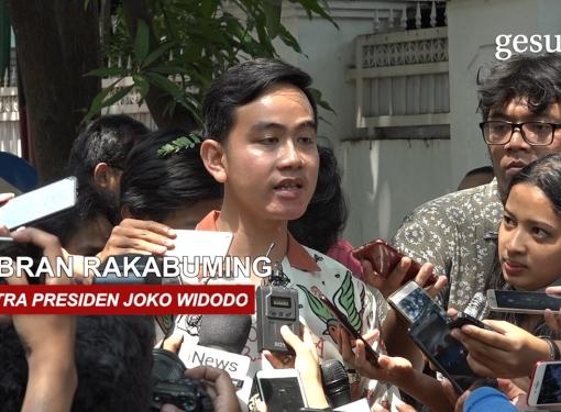 Gibran Mengunjungi Kediaman Megawati Soekarnoputri