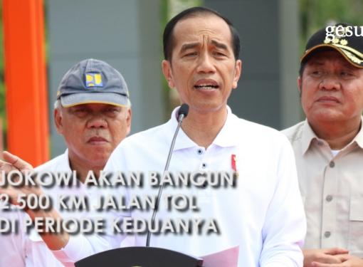 Presiden Jokowi Akan Bangun 2.500 Km Jalan Tol