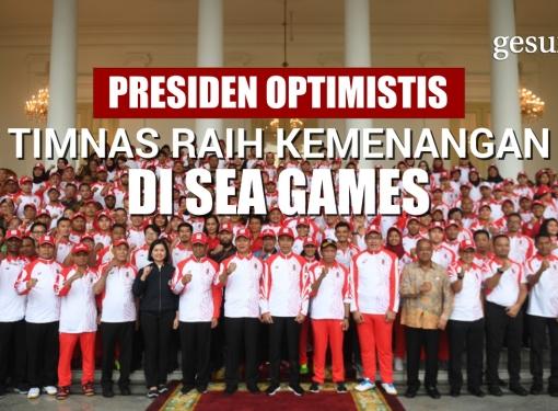 Presiden Optimistis Timnas Raih Kemenangan di Sea Games