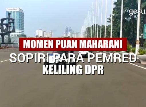 Momen Puan Maharani Sopiri para Pemred Keliling DPR