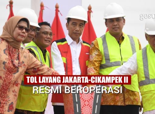 Tol Jakarta-Cikampek II Resmi Beroperasi, Gratis!