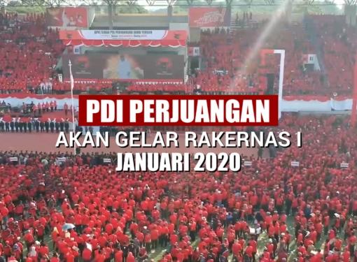PDI Perjuangan Akan Gelar Rakernas I, 10-12 Januari 2020