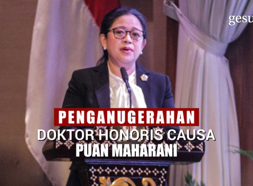 Puan Penuhi 10 Prasyarat Doktor HC Universitas Diponegoro