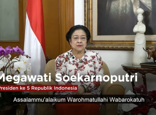 Pesan Megawati Soekarnoputri pada Webinar dan Bedah Buku