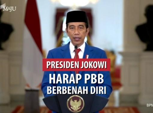 Presiden Jokowi Harap PBB Berbenah Diri