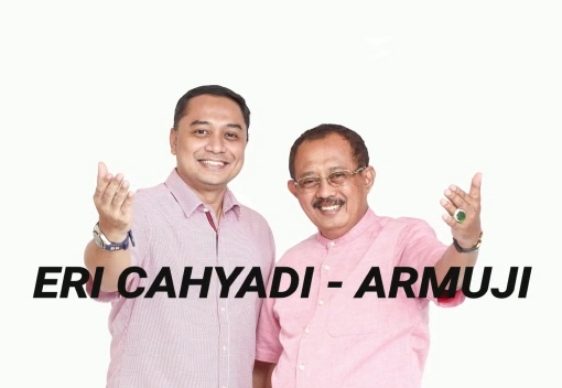 Eri Cahyadi dan Armuji, #MeneruskanKebaikan Kota Surabaya!