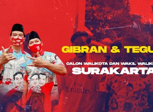 9 Desember 2020, Pilih Gibran-Teguh untuk Surakarta!