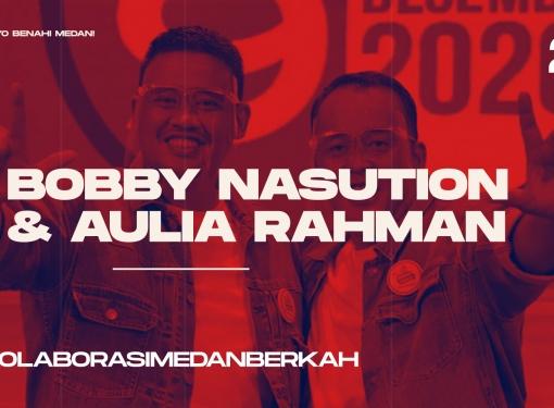 Pilkada Medan, Wujudkan #KolaborasiMedanBerkah Bobby-Aulia!