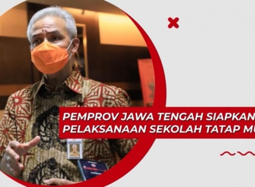 Pemprov Jawa Tengah Siapkan Pelaksanaan Sekolah Tatap Muka