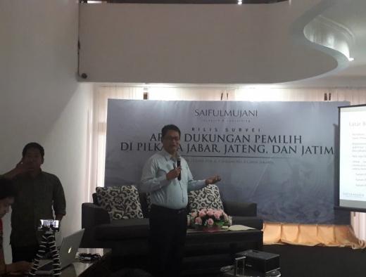 SMRC: Elektabilitas Jokowi Terunggul di Tiga Provinsi