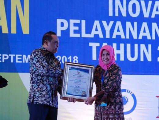 Pemkot Magelang Terima Penghargaan Top 99 SINOVIK